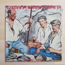Discos de vinilo: 1ª SEMANA CORAL VIZCAINA - VOLUMEN CUATRO - LP - VINILO - CBS - 1974. Lote 150978642