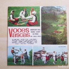 Discos de vinilo: VOCES VASCAS - AGRUPACIÓN CORAL MANUEL IRADIER - LP - VINILO - FONOGRAM - 1964. Lote 150979090
