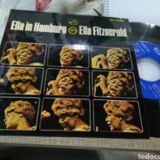 Discos de vinilo: ELLA FITZGERALD IN HAMBURG SINGLE THAT OLD BLACK MAGIC ESPAÑA 1965 EN PERFECTO ESTADO. Lote 150980861