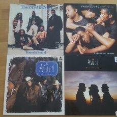 Discos de vinilo: LOTE 4 MAXI SINGLES PASADENAS + ASWAD. Lote 150981069