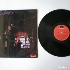 Disques de vinyle: NINO BRAVO - PRIMER LP - POLYDOR 2385003 - ESPAÑA 1970. Lote 150981082