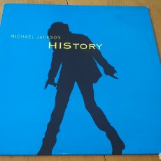 Discos de vinilo: HISTORY MAXI PROMO MICHAEL JACKSON. Lote 150983081