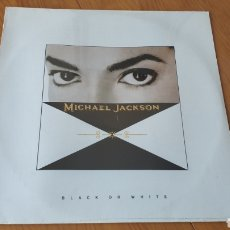 Discos de vinilo: MEXICO MAXI BLACK OR WHITE MICHAEL JACKSON NUEVO. Lote 150983474