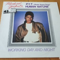 Discos de vinilo: MAXI FRANCIA PYT PRETTY YOUNG THING MICHAEL JACKSON. Lote 150983714