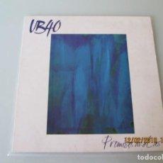 Discos de vinilo: UB40 – PROMISES AND LIES. Lote 150983802