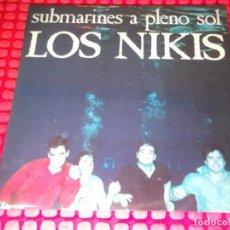 Discos de vinilo: LOS NIKIS SUBMARINES A PLENO SOL SPAIN 1987 MINI LP. Lote 150985566