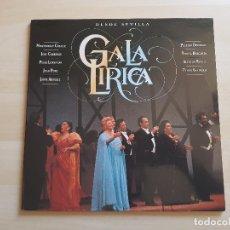 Discos de vinilo: GALA LIRICA - DESDE SEVILLA - LP - DOBLE VINILO - BMG - ARIOLA - 1991 - PLACIDO DOMINGO. Lote 150989826