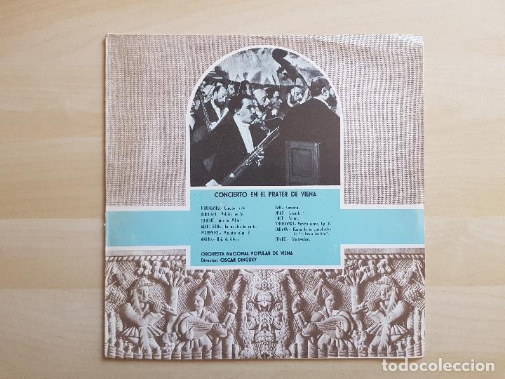 CONCIERTO EN EL PRATER DE VIENA - OSCAR DINGSKY - LP - VINILO - CLUB INTERNACIONAL DEL DISCO - 1980 (Música - Discos - LP Vinilo - Clásica, Ópera, Zarzuela y Marchas)