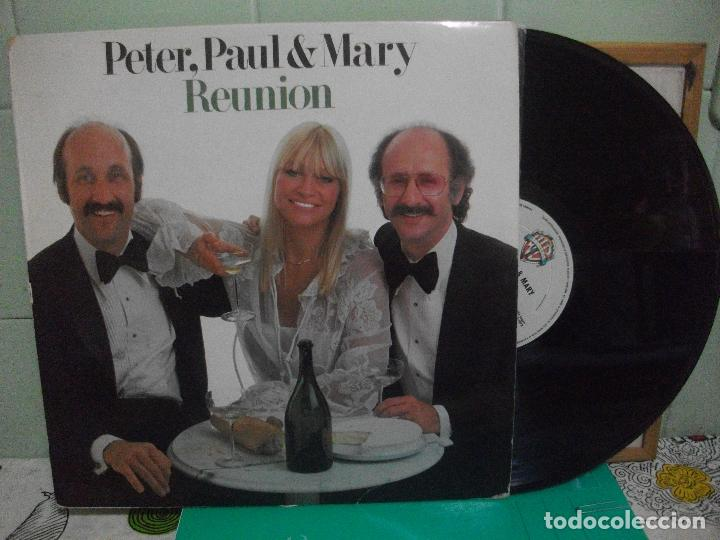 PETER, PAUL & MARY REUNION LP SPAIN 1977 PDELUXE (Música - Discos - LP Vinilo - Country y Folk)