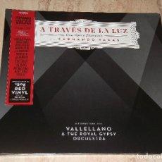 Discos de vinilo: LP-FERNANDO VACAS-A TRAVES DE LA LUZ-UNA OPERA FLAMENCA-EDICION LIMITADA VINILO ROJO CON POSTER. Lote 150994782