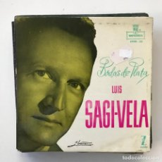 Discos de vinilo: LUIS SAGI-VELA - BODAS DE PLATA - EP MONTILLA 1959 . Lote 150997570