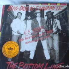 Discos de vinilo: BIG AUDIO DYNAMITE THE BOTTOM LINE (U.S. REMIX). Lote 151002190