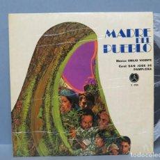 Discos de vinilo: LP. EMILIO VICENTE.CORAL SAN JOSE DE PAMPLONA. MADRE DEL PUEBLO. Lote 151006118