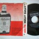 Discos de vinilo: VAN PRINCE CON SAHIB SHIHAB & TETE MONTOLIU ADLON HULLY GULLY - SINGLE DANÉS 1961 - ADLON. Lote 151007202