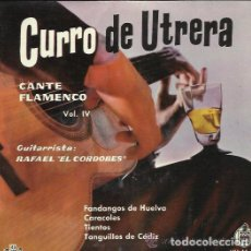 Discos de vinilo: CURRO DE UTRERA - EP - FANDANGOS DE HUELVA + 3 - HISPAVOX - 1960. Lote 151010674