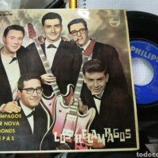 Discos de vinilo: LOS RELÁMPAGOS EP RELÁMPAGOS + 3 1963 ESCUCHADO. Lote 151010973