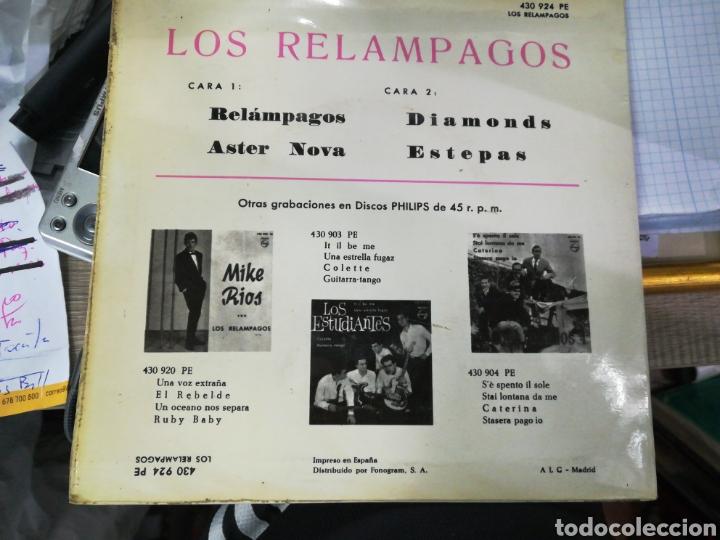 Discos de vinilo: Los relámpagos ep relámpagos + 3 1963 escuchado - Foto 2 - 151010973