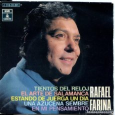Discos de vinilo: RAFAEL FARINA - EP - TIENTOS DEL RELOJ + 3 - EMI ODEON -1970. Lote 151011606