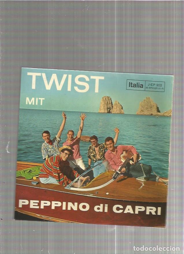 PEPPINO DI CAPRI TROPEZ TWIST (Música - Discos de Vinilo - EPs - Pop - Rock Extranjero de los 50 y 60)