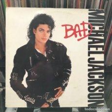 Discos de vinilo: MICHAEL JACKSON  BAD GAT 1987 BUEN ESTADO. Lote 151027658