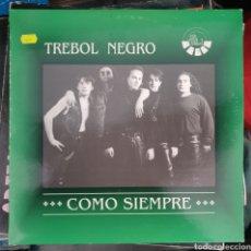 Discos de vinilo: LP TREBOL NEGRO COMO SIEMPRE. Lote 151035534
