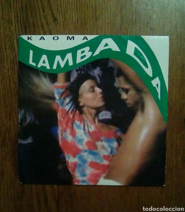 KAOMA - LAMBADA, CBS, 1989. HOLLAND. (Música - Discos - Singles Vinilo - Grupos y Solistas de latinoamérica)