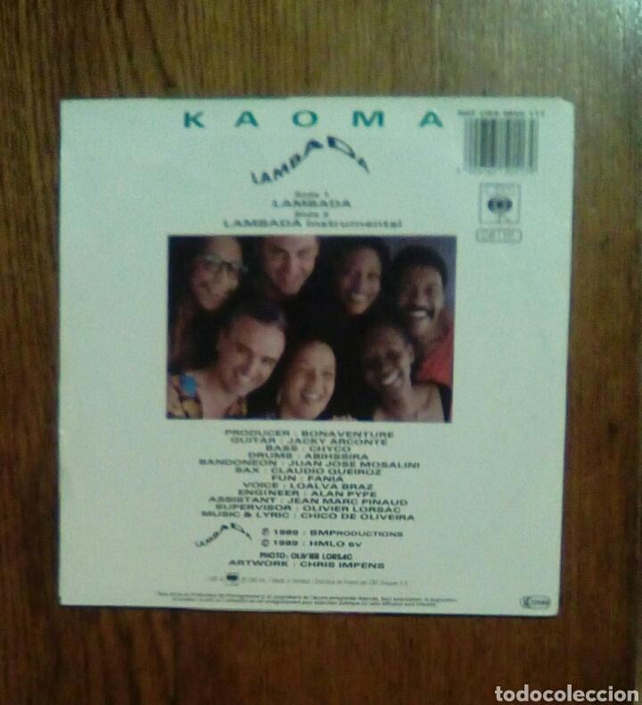 Discos de vinilo: Kaoma - Lambada, Cbs, 1989. Holland. - Foto 2 - 151041132