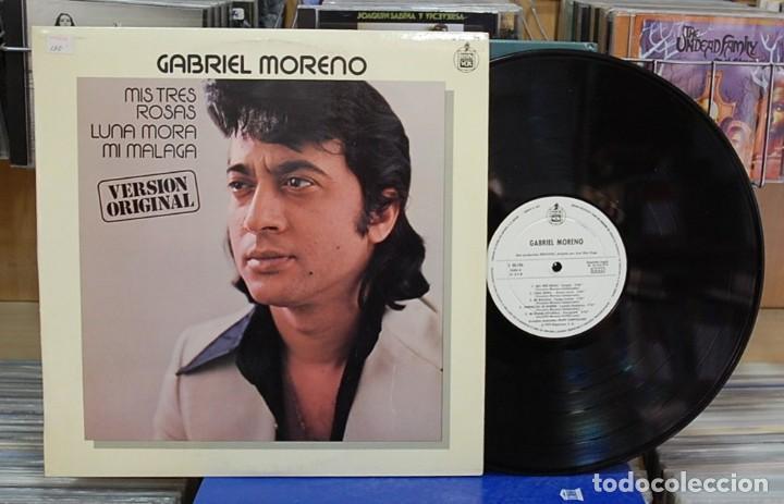LMV - GABRIEL MORENO. HISPAVOX 1979, REF. S 20.196. LP (Música - Discos - LP Vinilo - Flamenco, Canción española y Cuplé)