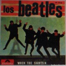 Discos de vinilo: BEATLES WHEN THE SAINTS - SOLO VINILO SIN FUNDA PORTADA - TONY SHERIDAN. Lote 151059226