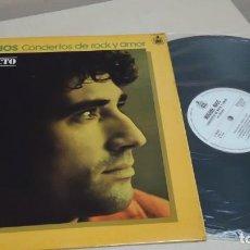 Discos de vinilo: MIGUEL RIOS CONCIERTO DE ROCK Y AMOR-EN DIRECTO- MADRID- HISPAVOX- 1978- . Lote 151070474