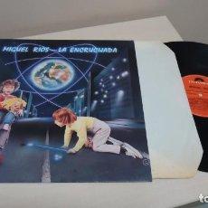 Discos de vinilo: MIGUEL RIOS -LA ENCRUCIJADA -CIRCULO DE LECTORES.1984 POLYGRAM-MADRID. Lote 151071778