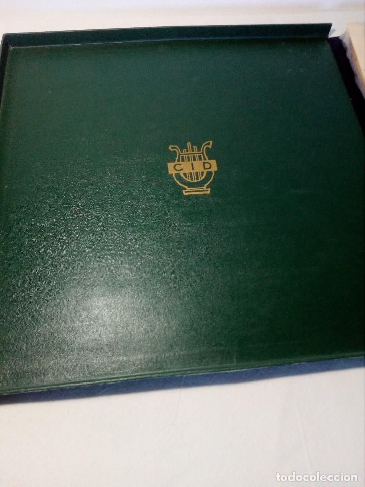 Discos de vinilo: BEETHOVEN CAJA CON 2 LP LIBRETO CID 3039-3040 (DISCOS CID) DIBUJO PORTADA: IZQUIERDO - Foto 3 - 151076842