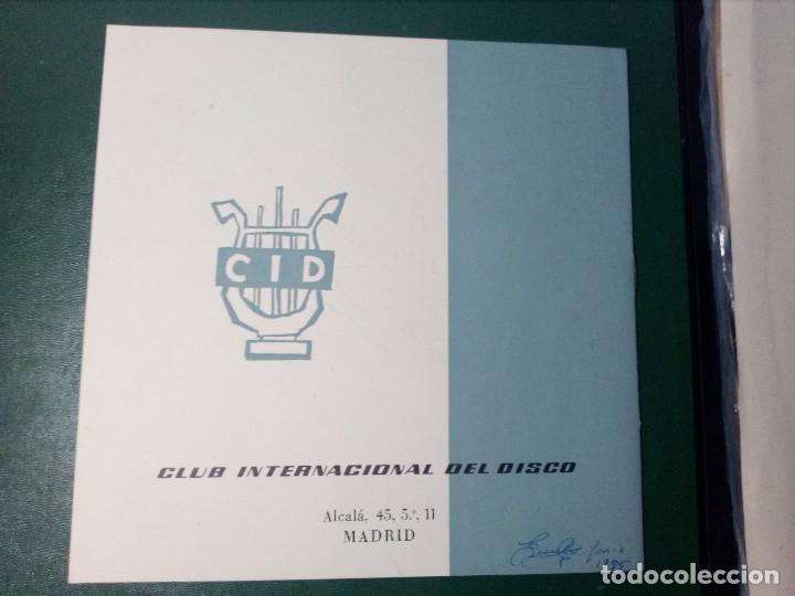 Discos de vinilo: BEETHOVEN CAJA CON 2 LP LIBRETO CID 3039-3040 (DISCOS CID) DIBUJO PORTADA: IZQUIERDO - Foto 5 - 151076842