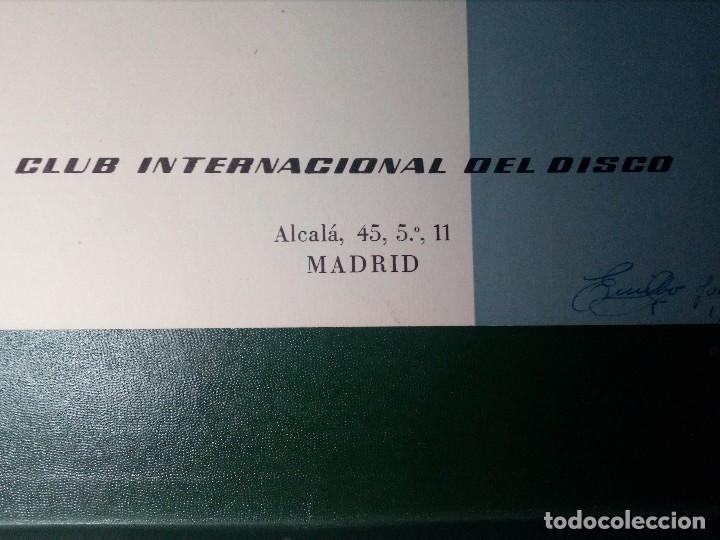 Discos de vinilo: BEETHOVEN CAJA CON 2 LP LIBRETO CID 3039-3040 (DISCOS CID) DIBUJO PORTADA: IZQUIERDO - Foto 7 - 151076842