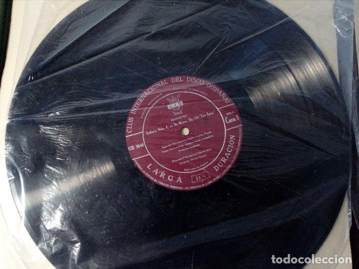 Discos de vinilo: BEETHOVEN CAJA CON 2 LP LIBRETO CID 3039-3040 (DISCOS CID) DIBUJO PORTADA: IZQUIERDO - Foto 11 - 151076842