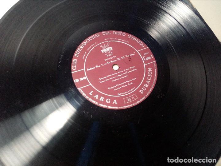 Discos de vinilo: BEETHOVEN CAJA CON 2 LP LIBRETO CID 3039-3040 (DISCOS CID) DIBUJO PORTADA: IZQUIERDO - Foto 12 - 151076842
