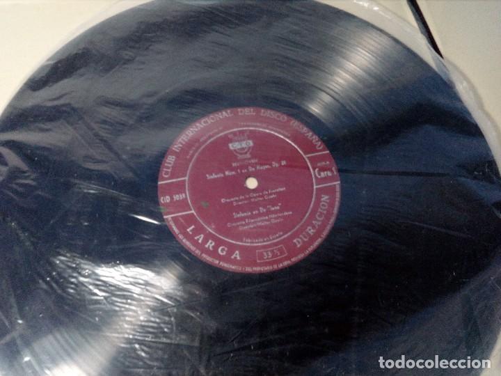 Discos de vinilo: BEETHOVEN CAJA CON 2 LP LIBRETO CID 3039-3040 (DISCOS CID) DIBUJO PORTADA: IZQUIERDO - Foto 18 - 151076842