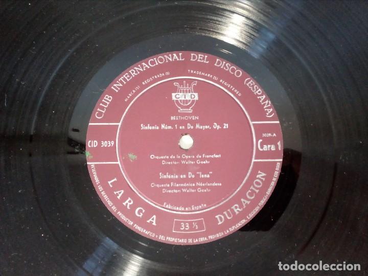 Discos de vinilo: BEETHOVEN CAJA CON 2 LP LIBRETO CID 3039-3040 (DISCOS CID) DIBUJO PORTADA: IZQUIERDO - Foto 20 - 151076842