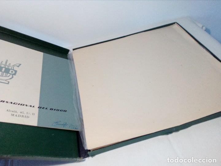 Discos de vinilo: BEETHOVEN CAJA CON 2 LP LIBRETO CID 3039-3040 (DISCOS CID) DIBUJO PORTADA: IZQUIERDO - Foto 22 - 151076842