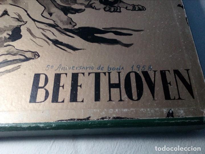 Discos de vinilo: BEETHOVEN CAJA CON 2 LP LIBRETO CID 3039-3040 (DISCOS CID) DIBUJO PORTADA: IZQUIERDO - Foto 23 - 151076842