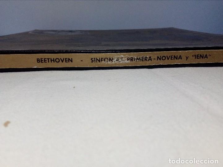 Discos de vinilo: BEETHOVEN CAJA CON 2 LP LIBRETO CID 3039-3040 (DISCOS CID) DIBUJO PORTADA: IZQUIERDO - Foto 29 - 151076842