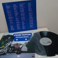 Discos de vinilo: PERE TAPIAS 400 PENDONS - ARIOLA - 1979- BCN- . Lote 151077326