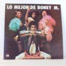 Discos de vinilo: BONEY M (LO MEJOR DE BONEY M) LP HECHO EN ESPAÑA POR ARIOLA EURODISC SPAIN. Lote 151080526