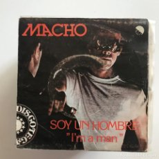 Discos de vinilo: MACHO - I'M A MAN - SINGLE EMI 1979 . Lote 151083350