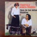 Discos de vinilo: CLAUDINA Y ALBERTO GAMBINO – VALS DE LAS SOLAS / GUABINA SELLO: EXPLOSIÓN – E-34555 . Lote 151084034