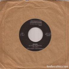 Discos de vinilo: SINGLE ORLANDO CONTRERAS HONEY/NECESITO PENSAR TECA RECORDS 5583 CUBA???. Lote 151084954