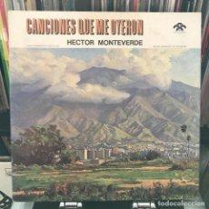 Discos de vinilo: LP DE HECTOR MONTEVERDE_ VENEZUELA 196XXX IMPECABLE . Lote 151100570