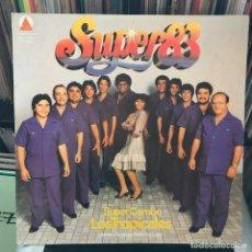 Discos de vinilo: SUPER COMBO LOS TROPICALES – SUPER 83 VENEZUELA 1982 SALSA. Lote 151103422
