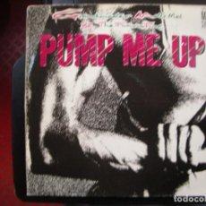 Discos de vinilo: GRANDMASTER MELLE MEL- PUMP ME UP. MAXISINGLE.. Lote 151113234