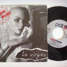 Disques de vinyle: NUMEROS ROJOS - LA VIRGEN - SINGLE PROMOCIONAL 1991 - PDI . Lote 151116454